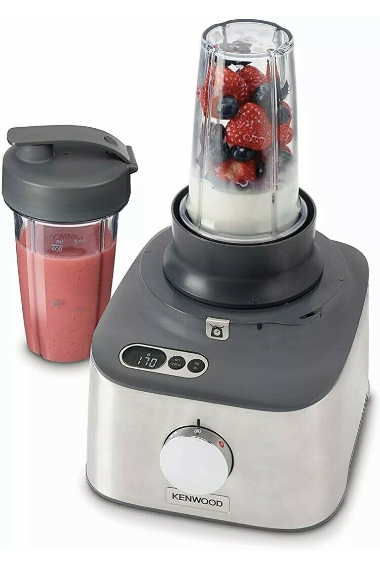 Kenwood Multipro Compact Plus Food Processor/&Blender With Digital Weighing Scale